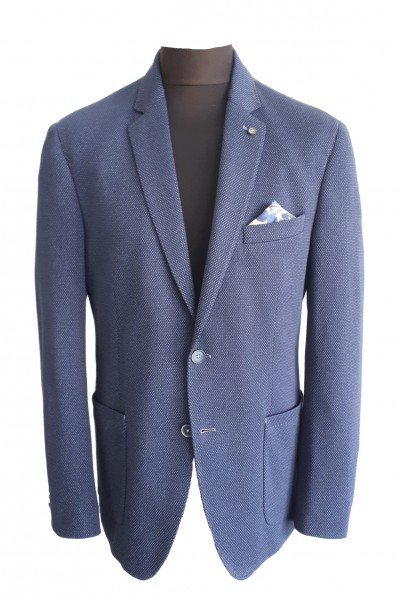 Jersey blazer, 2-tone, REGULAR fit