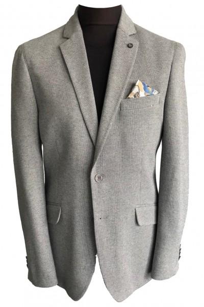 Jersey blazer, structure, MODERN fit
