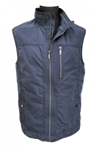 Cotton washer waistcoat