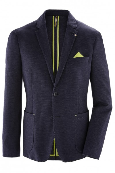 Jersey blazer, melange, MODERN fit