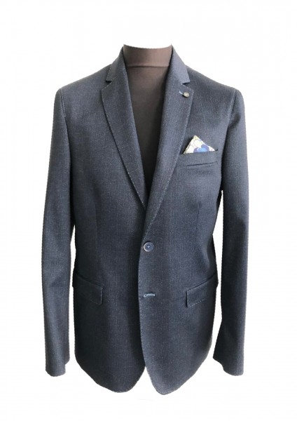 Jersey blazer, fantasy print, MODERN fit