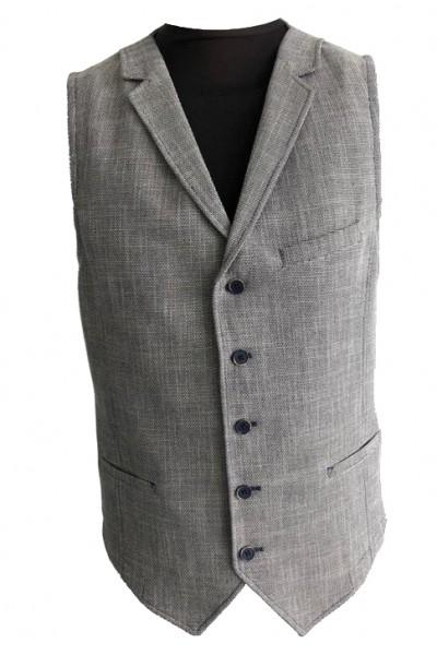 blazer waistcoat, 2-tone structure