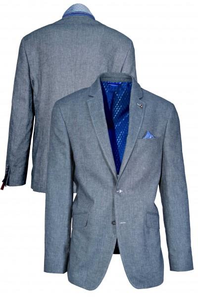 Cotton Linen Melange Blazer